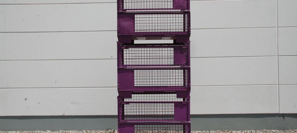 Wir reparieren auch Gitterboxpaletten die nicht der UIC-Norm von EPAL unterliegen. Dies sind kundeneigene Gitterboxpaletten.
