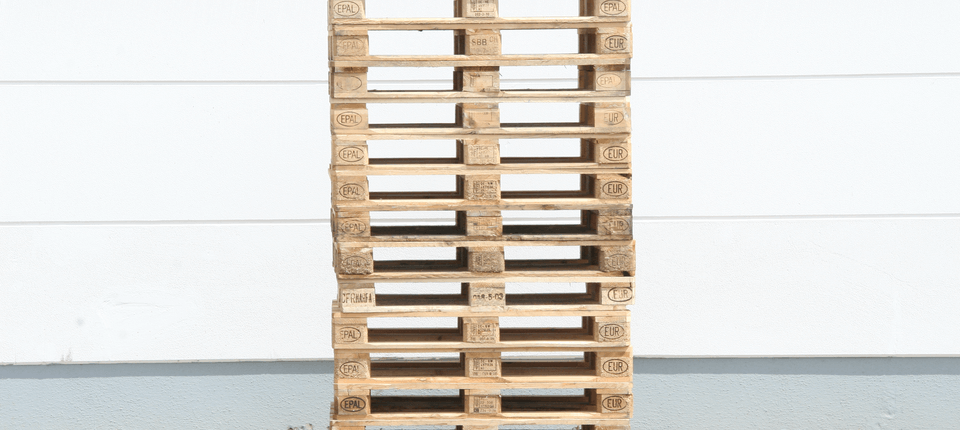 We have a flourishing business in new and used DB-EURO wooden flat pallets